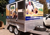 Maleny Cheese Trailer signage